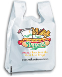 Custom Bags, Grocery Bags, Plastic Bags: T-Shirt Bag